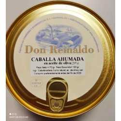 """CABALLA AHUMADA EN ACEITE DE OLIVA """"DON REINALDO"""""""