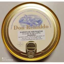 "SARDINAS AHUMADAS EN ACEITE DE OLIVA  ""DON REINALDO"""