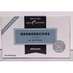 BERBERECHOS AL NATURAL 30-40 PIEZAS