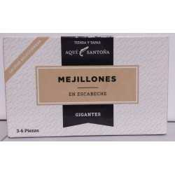 MEJILLONES EN ESCABECHE 3-6 PIEZAS