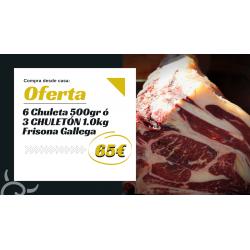 Pack especial carne gallega | Productos gallegos