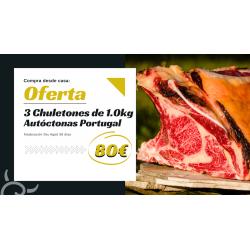 Oferta 3 Chuletones | Portugal