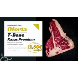 T-Bone Razas Premium | Oferta carne Galicia Gourmet