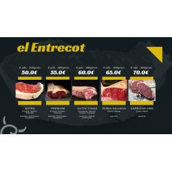 Crea tu pack de Entrecot Gallego | Carnes de Galicia