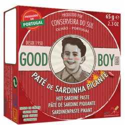 PATÉ DE SARDINA PICANTE 65GR.GOOD BOY